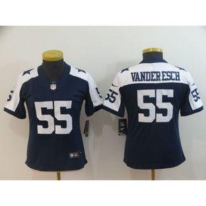 Women Dallas Cowboys Leighton Vander Esch Jersey (